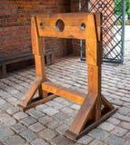 Historische houten voorraden royalty-vrije stock foto's