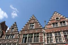 Historische huizen Royalty-vrije Stock Fotografie