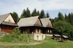 Historische huizen Stock Foto's