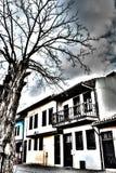 Historische huizen in Odunpazari stock afbeeldingen