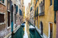 Historische huizen van Grand Canal in Venetië royalty-vrije stock afbeelding