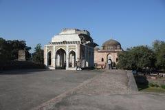 Historische Islamik, architectuur, mahal asharfi, mandu, madhya pradesh, India Stock Foto's