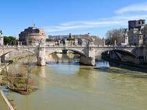 Historische Italiaanse stad Royalty-vrije Stock Foto's