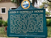 Historische John P Donnelly House stock foto