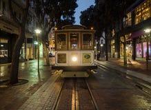 Historische Kabelwagen, lijn powell-Hyde op 17 Augustus, 2017 - San Francisco, Californië, CA Stock Foto's