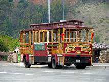 Historische kabelwagen in San Francisco Stock Fotografie