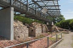 Historische Kalkbrennöfen in Floersheim u. in x28; Hesse& x29; vom 18. und vom 19. Jahrhundert Deutschland Stockbilder