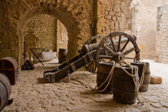 Historische Kanone Stockfotografie