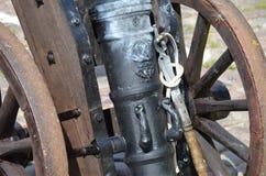 Historische Kanone Lizenzfreie Stockfotos