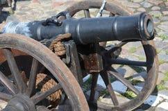 Historische Kanone Stockfotos