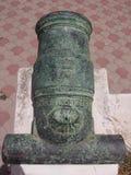 Historische Kanone in MAROKKO Lizenzfreies Stockbild