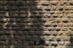 Historische kasteelmuur van de middenleeftijden Stock Afbeelding