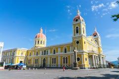 Historische Kathedraal van de Katholieke Kerk van Granada Stock Afbeelding