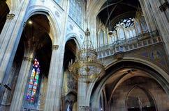 Historische kathedraal in Wenen Royalty-vrije Stock Foto's