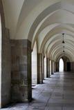 Historische kathedraalcolonnade Royalty-vrije Stock Afbeelding