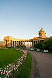 Historische Kazan Kathedraal Stock Fotografie