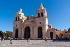 Historische Kerk in Cordoba Stock Afbeelding