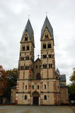 Historische Kerk in Kobenz, Duitsland stock foto's