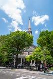 Historische Kerk in NYC Stock Foto's