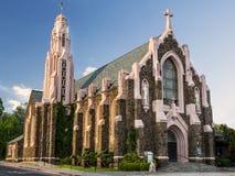 Historische Kirche der Geburt Christi im Fahnenmast Arizona lizenzfreie stockfotografie