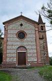 Historische Kirche von Emilia-Romagna. Italien. Lizenzfreies Stockfoto