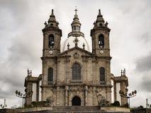 Historische Kirche von Sameiro Lizenzfreies Stockfoto