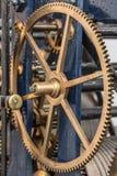 Historische klok met toestelwielen, Ierland, 2015 Stock Foto's