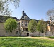 Historische Krankenhausvoraussetzungsarchitektur in Paris lizenzfreies stockfoto