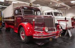 Historische KRUPP-TITAANswl 80 vrachtwagen vanaf 1952 Royalty-vrije Stock Fotografie