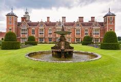 Historische Landhausvilla in England Lizenzfreie Stockfotografie