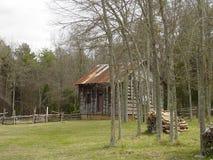 Historische Latta-Plantage, North Carolina Stockbild