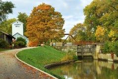 Historische Ludwig Mill stock fotografie