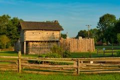 Historische Mansker-` s Station Tennessee stockbild