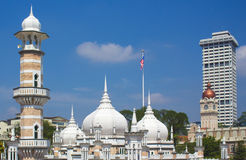 Historische Masjid Jamek royalty-vrije stock foto's