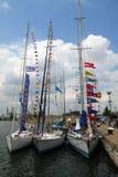 Historische Meerhoher LieferungRegatta 2010 Stockbild
