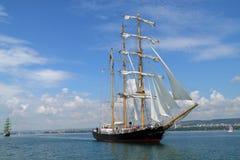 Historische Meerhoher LieferungRegatta 2010 Lizenzfreie Stockfotos