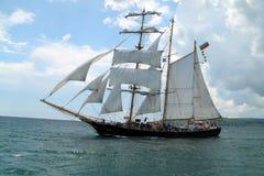 Historische Meerhoher LieferungRegatta 2010 Lizenzfreies Stockfoto