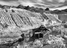 Historische mijnbouwruïnes, Oatman Arizona royalty-vrije stock fotografie