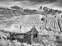 Historische mijnbouwruïnes, Oatman Arizona royalty-vrije stock afbeelding
