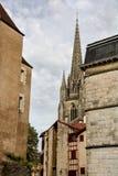 Historische Mitte Bayonnes Lizenzfreies Stockbild