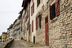 Historische Mitte Bayonnes Lizenzfreies Stockfoto