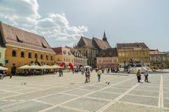 Historische Mitte Brasov lizenzfreie stockfotografie
