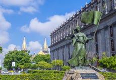 Historische Mitte Guadalajaras Stockfotografie