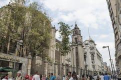 Historische Mitte Mexiko City Lizenzfreie Stockbilder