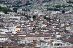 Historische Mitte Quitos Stockbilder