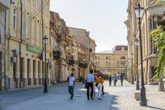 Historische Mitte von Bucharest, Rumänien Stockbild