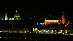 Historische Mitte von Florenz stock footage