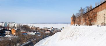 Historische Mitte von Nischni Nowgorod Lizenzfreies Stockfoto