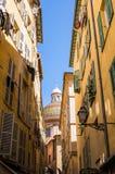 Historische Mitte von Nizza Stockfoto