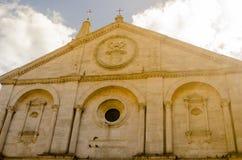 Historische Mitte von pienza Toskana Italien Stockfotografie